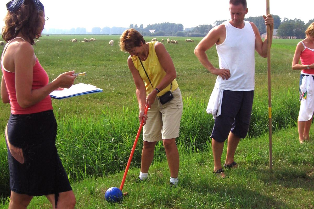 Boerengolf Aduard, golf, spel, plezier